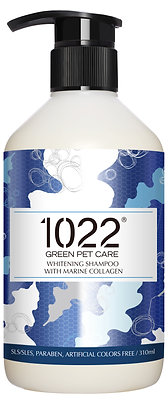 1022 Whitening Dog Shampoo 310ml/4l