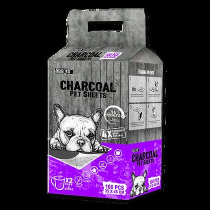 Absorb Plus Charcoal Pet Sheets (35 x 45cm)