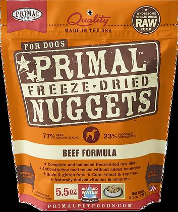 Primal Freeze Dried Beef (Dog) 5.5oz