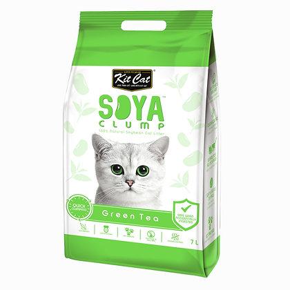 Kit Cat SoyaClump Green Tea SoyBean Litter 7l