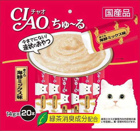 Ciao Chu ru Whitemeat Tuna 14g x 20