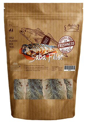 Absolute Bites Saba Fillet 360g