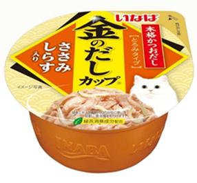 Ciao Kinnodashi Cup - Chicken Fillet in Gravy Topping Shirasu  70g