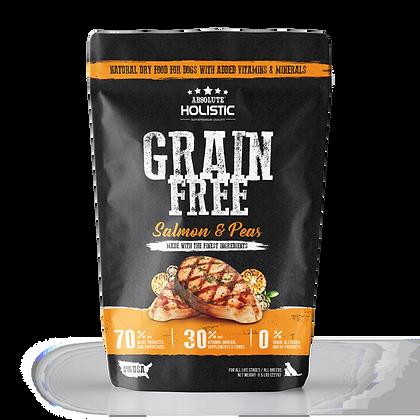 Absolute Holistic Grain Free Salmon & Peas Dog Food 0.5lbs