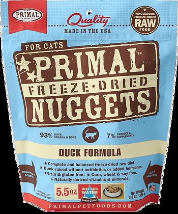 Primal Freeze Dried Feline Duck Nuggets (Cat) 5.5oz
