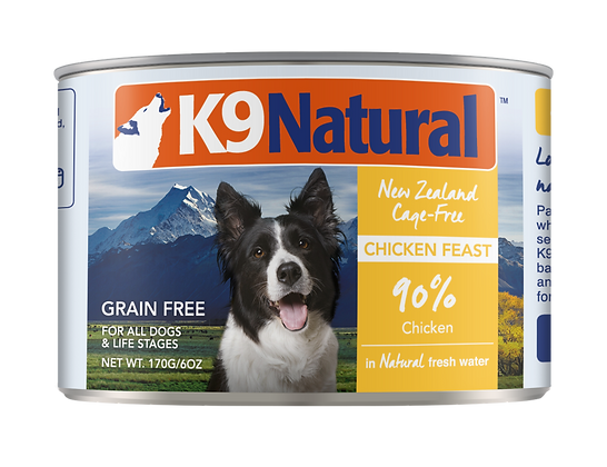 K9 Natural Chicken Canned 170g