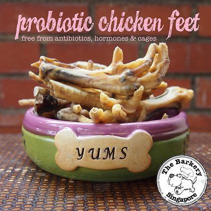 The Barkery - Probiotic Chicken Feet 100/200g