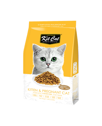 Kit Cat Kitten & Pregnant Premium Cat Food 1.2kg