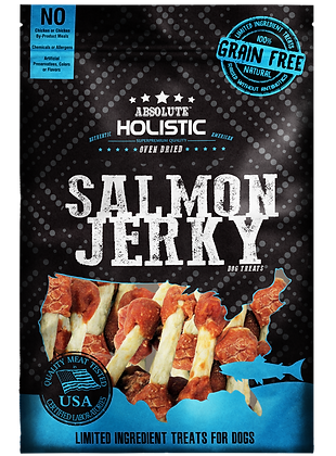 Absolute Holistic Grain Free Salmon Dumbbell 100g