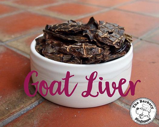 The Barkery - Goat Liver 100g
