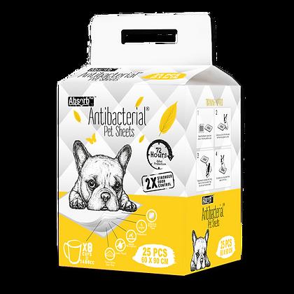 Absorb Plus Antibacterial Pet Sheets (60 x 90cm)