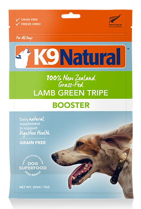 K9 Natural Lamb Green Tripe Booster Feast Freeze Dried Dog Food 200g