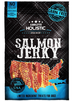 Absolute Holistic Grain Free Salmon Steak 100g
