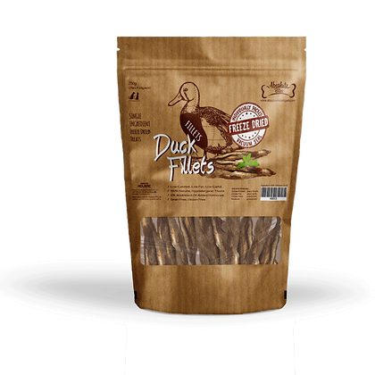 Absolute Bites Freeze Dried Duck Fillet 250g