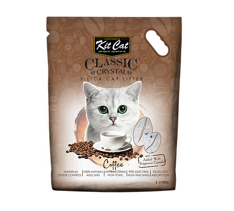 Kit Cat Coffee Crystal Cat Litter 5l