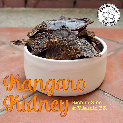 The Barkery - Dehydrated Kangaroo Kidney 100g