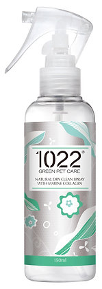 1022 Natural Dry Clean Spray (Dogs & Cats) 150ml