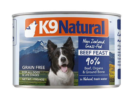 K9 Natural Beef Canned 170g