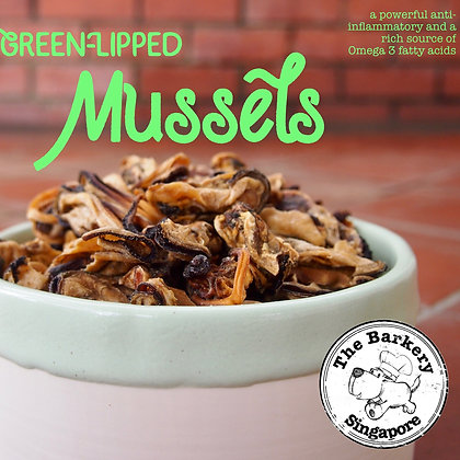 The Barkery - Green-Lipped Mussels 50/100g