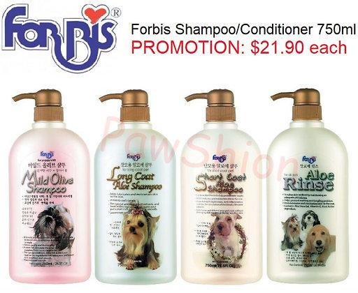 Forbis Aloe Dog Shampoo / Conditioner