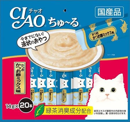 Ciao Chu ru Tuna Dried Bonito Mix 14g x 20