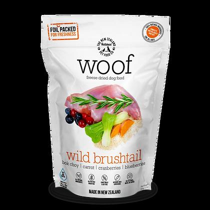 WOOF Freeze Dried Raw Wild Brushtail 50g/320g/1.2kg