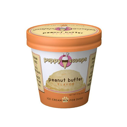 Puppy Scoops★Peanut Butter Flavour Dog Ice Cream