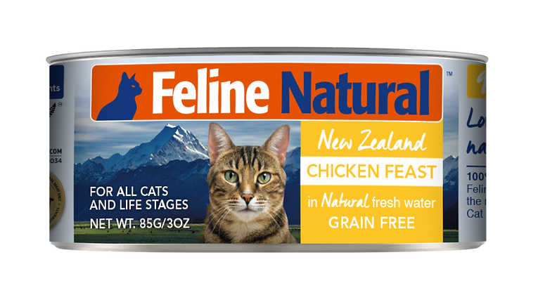 Feline Natural Chicken Cat Canned Food 85g