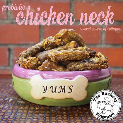 The Barkery - Probiotic Chicken Neck 100/200g