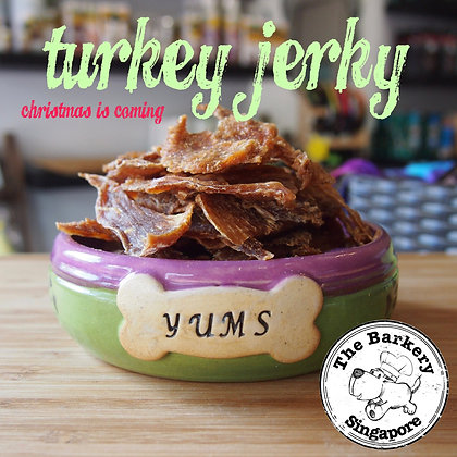 The Barkery - Turkey Jerky 40/100g