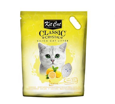 Kit Cat Lemon Crystal Cat Litter 5l