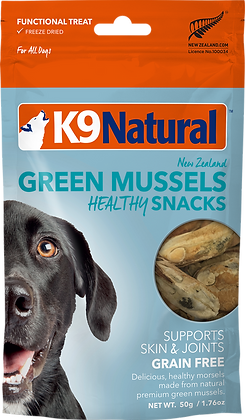 K9 Natural Freeze Dried Green Lipped Mussels Healthy Bites 50g