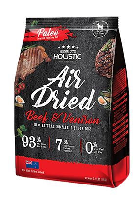 Absolute Holistic Air Dried Dog Food (Beef & Venison) 1kg