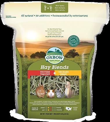 Oxbow Hay Blend - Timothy/Orchard 20oz / 40oz / 90oz