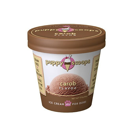 Puppy Scoops★Carob Flavour Dog Ice Cream
