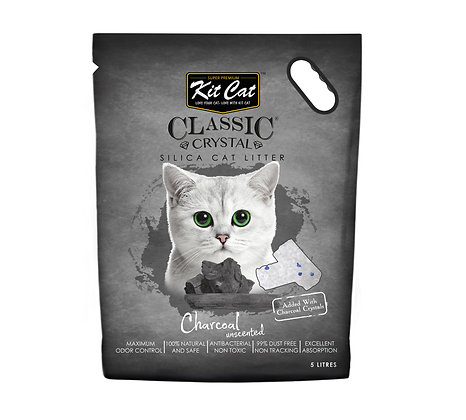 Kit Cat Charcoal Crystal Cat Litter 5l