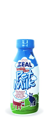 [Buy 2 Free 1] Zeal Lactose-Free Pet Milk for Cat & Dog 380ml/1l