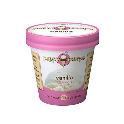 Puppy Scoops★Vanilla Flavour Dog Ice Cream