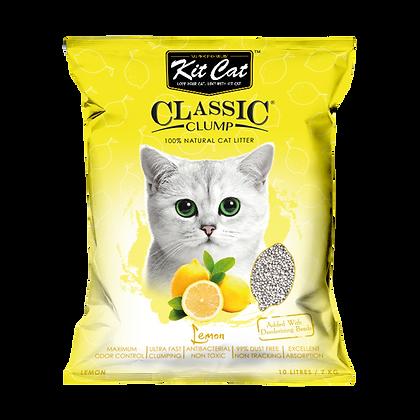 Kit Cat Lemon Classic Clump Cat Litter 10kg/7l