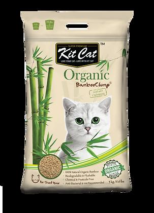 Kit Cat Organic Bamboo Clump (Short Hair) 3kg