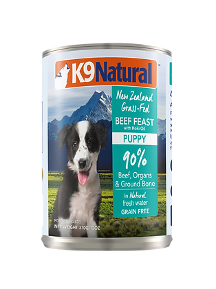 K9 Natural Hoki & Beef Canned (Puppy) 370g