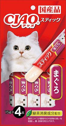 Ciao Stick Tuna (Maguro) In Jelly 15g x 4
