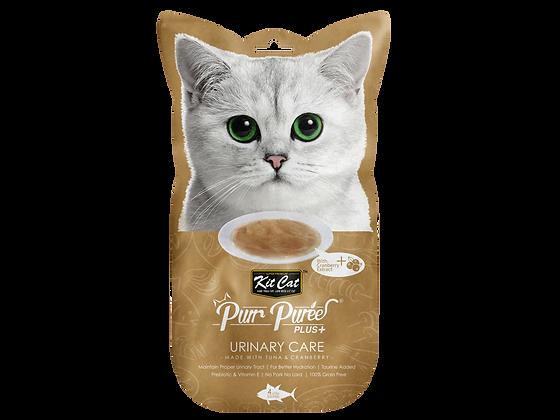 Kit Cat Purr Puree Plus+ Urinary Care (Tuna)