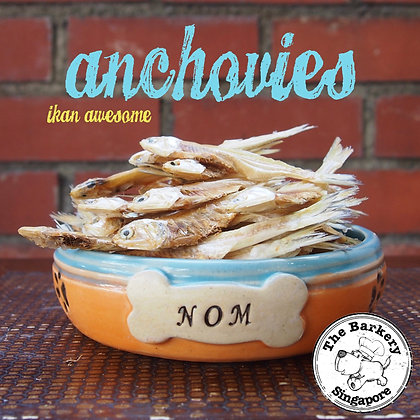 The Barkery - Anchovies 40/80g