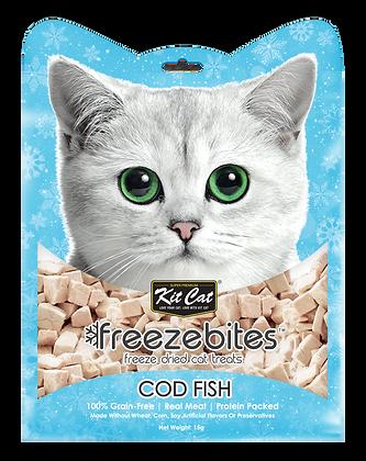 Kit Cat Freeze Bites Cod Fish 15g