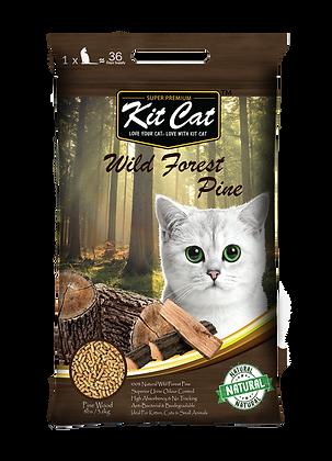 Kit Cat Wild Forest Pine Cat Litter 8lbs