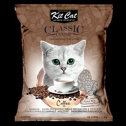 Kit Cat Coffee Classic Clump Cat Litter 10kg/7l