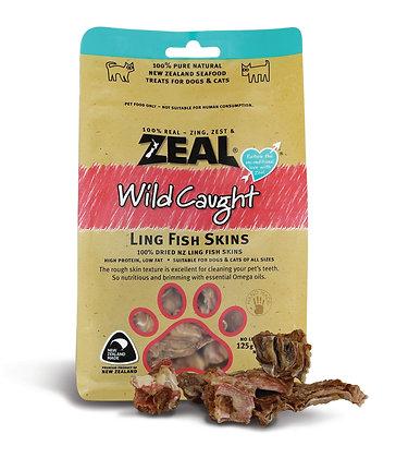 Zeal Ling Fish Skin Cat & Dog Treats 125g