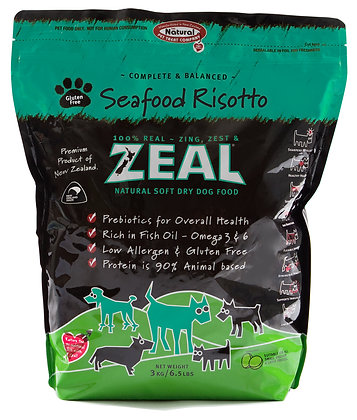 Zeal Seafood Risotto Dog Soft Dry Food 3kg