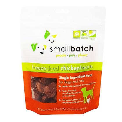 SmallBatch Chicken Heart Treat 3.5oz